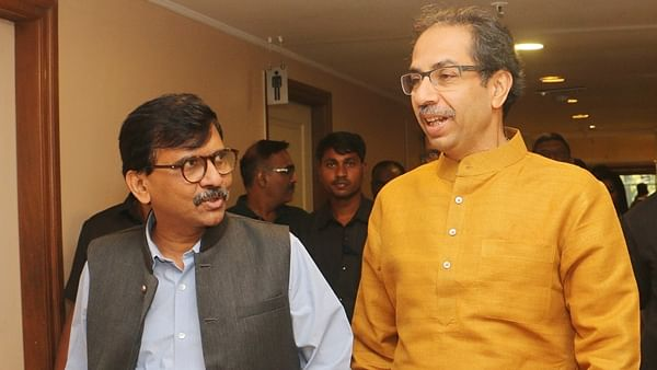 Sanjay Raut and Uddhav Thackeray