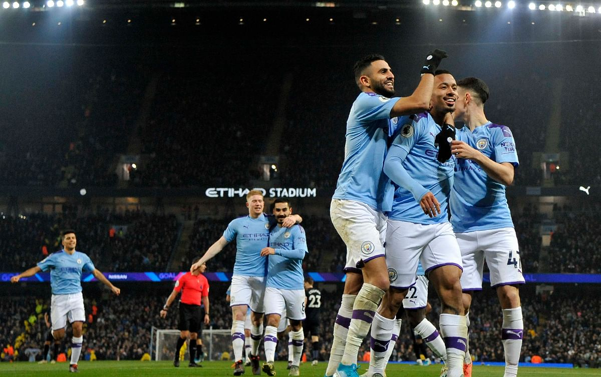 Manchester City rout United in 1st leg of Carabao Cup semi-final