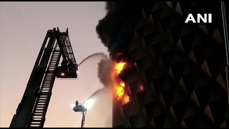 Major fire breaks out in seven-storey market complex in Surat; 60 fire engines rushed to spot