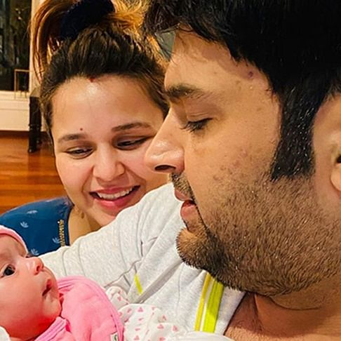 Kapil Sharma enjoys shopping for his daughter Anayra in Dubai