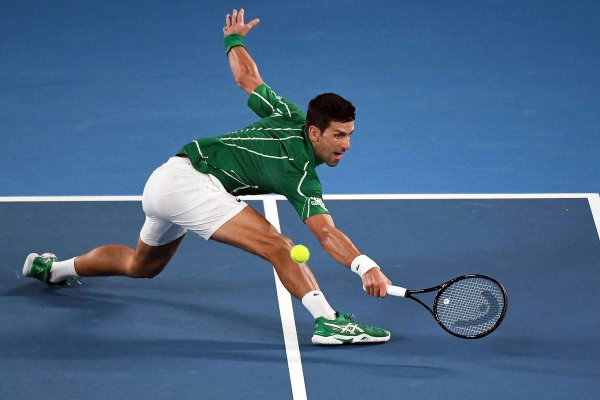 Australia Open: Djokovic survives scare in tough Slam opener