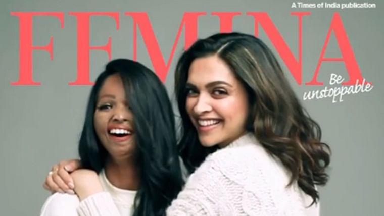 Brave and Beautiful: Deepika Padukone and Laxmi Agarwal shine together on a magazine cover