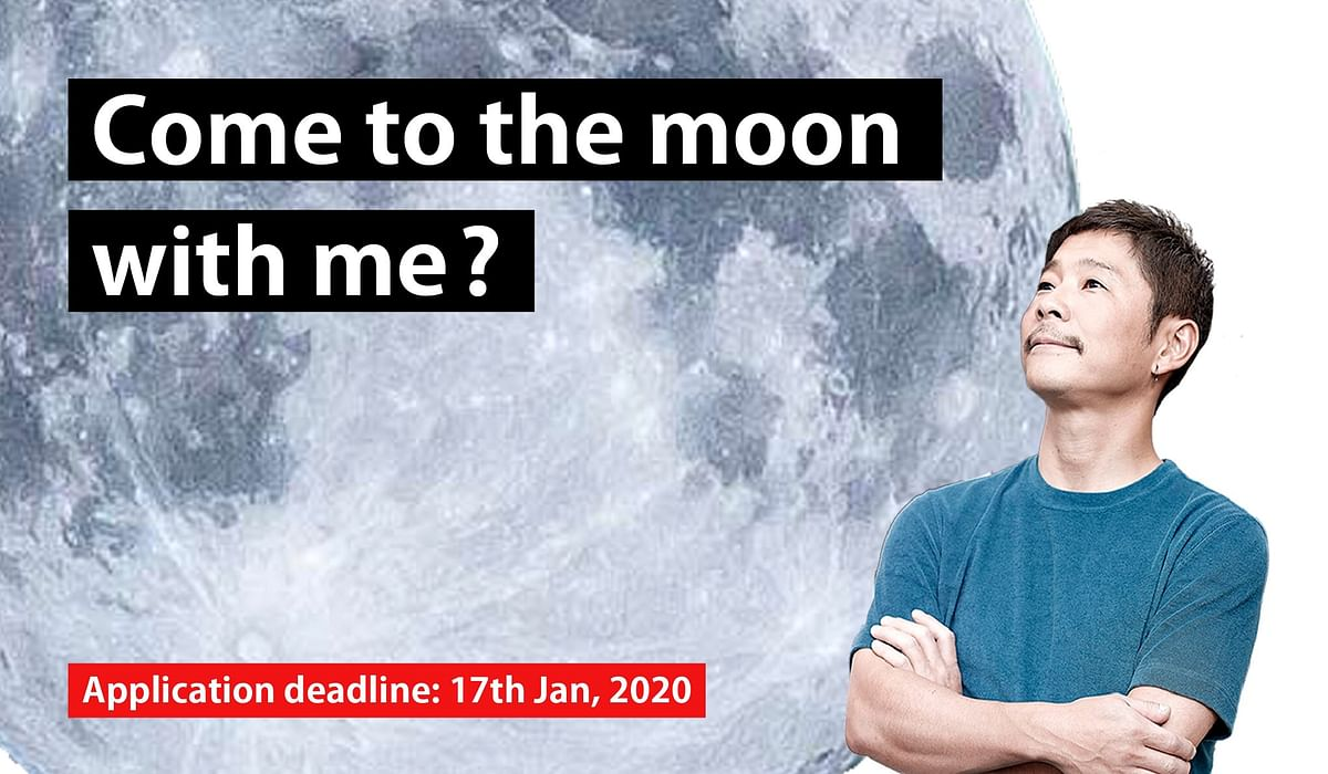 Japanese billionaire wants a life partner to join him on his voyage around the moon, applications open