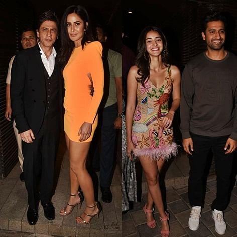Shah Rukh Khan, Katrina Kaif and others attend Ali Abbas Zafar's birthday bash; see pics