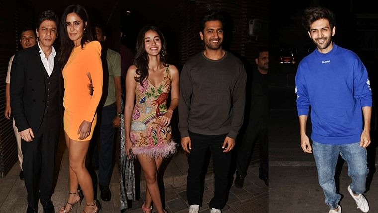 Shah Rukh Khan, Katrina Kaif and others attend Ali Abbas Zafar's birthday bash; see pics