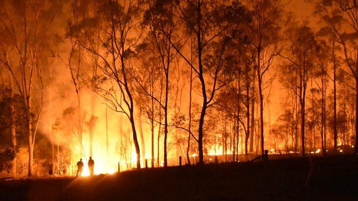 Hazardous Bushfire Smoke Hits Australian Open Build Up