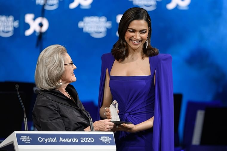 Deepika speaks on her 'love-hate relationship with mental health' after being honoured with WEF's Crystal Award