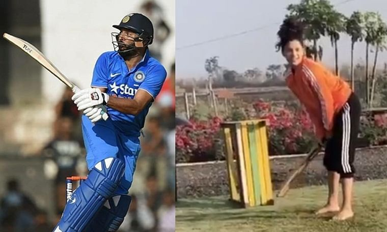 'Shot buddy!': Yuvraj Singh praises actress Saiyami Kher's 'front foot' shot