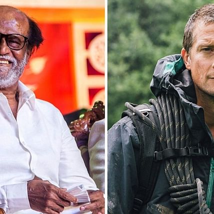 After PM Modi, Rajinikanth all set to feature in Bear Grylls' Man vs Wild episode
