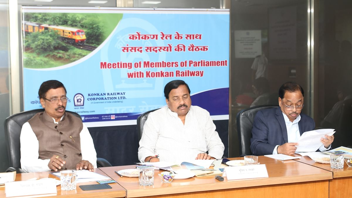 Konkan Railway holds meeting with Members of Parliament