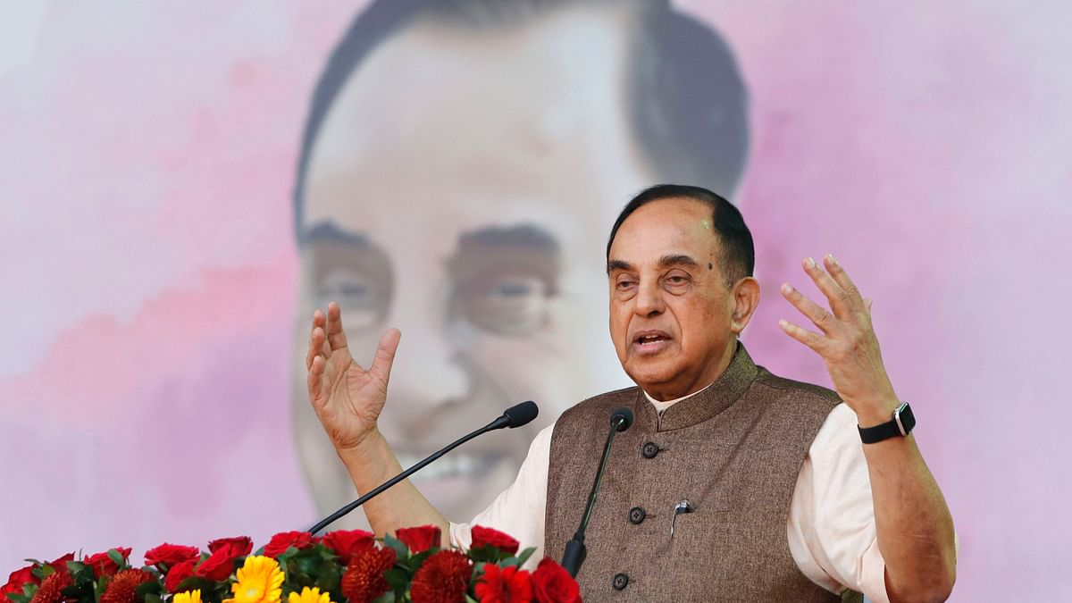 Swamy rubbishes Nirmala's 'Act of God' comment, wonders why GDP was low before COVID-19