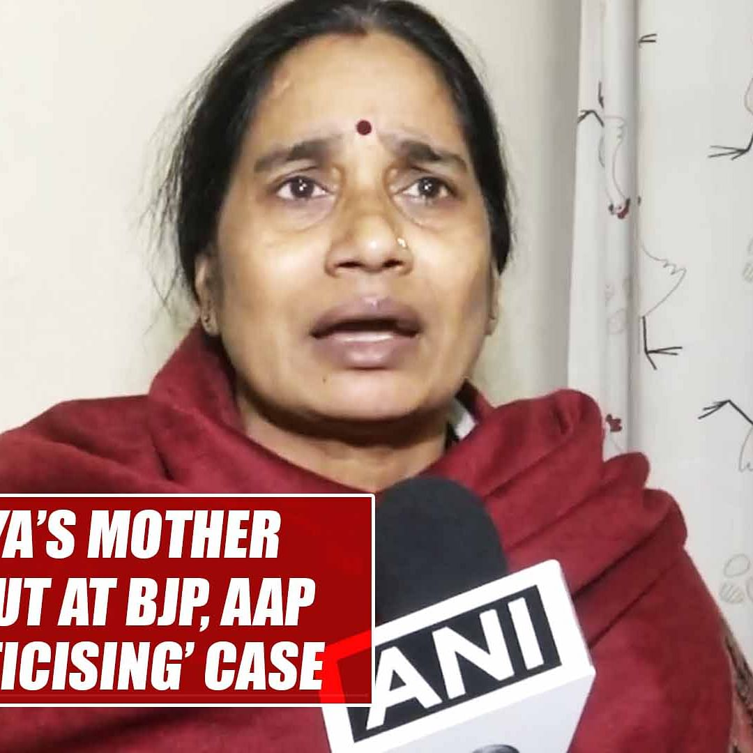 Nirbhaya's mother lashes out at BJP, AAP over 'politicising' case