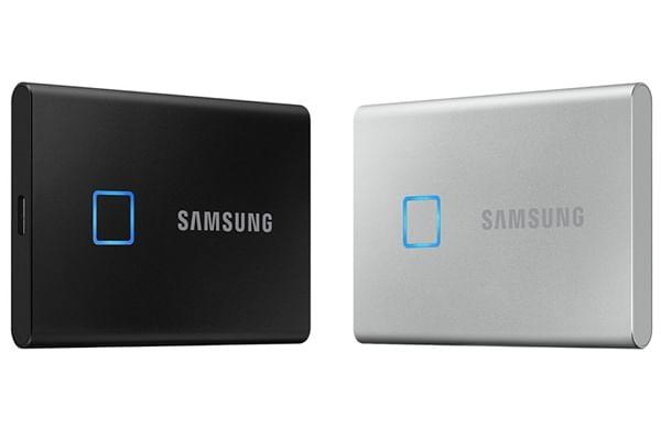 Samsung debuts portable SSD T7 with fingerprint scanner