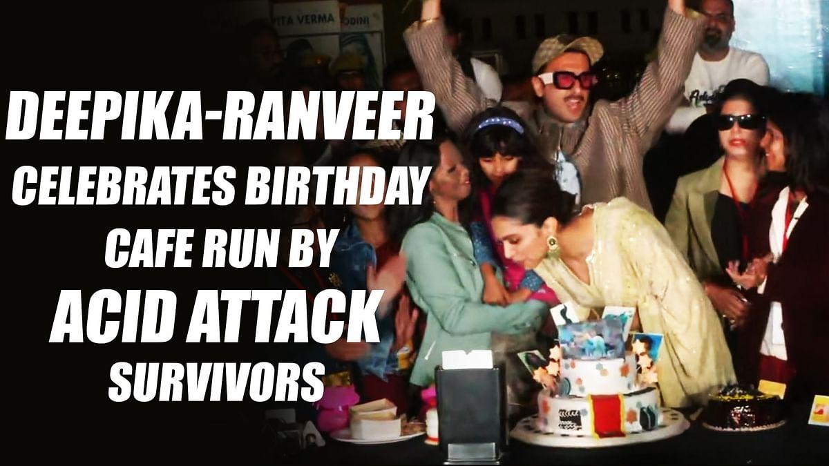 Deepika Padukone And Ranveer Singh celebrates birthday at cafe run by acid attack survivors