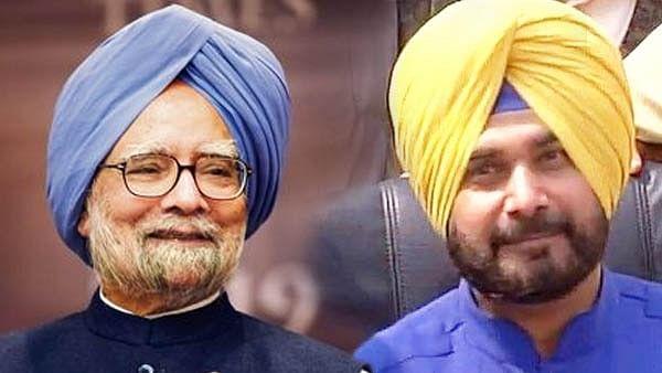 Navjot Singh Sidhu/ Manmohan Singh
