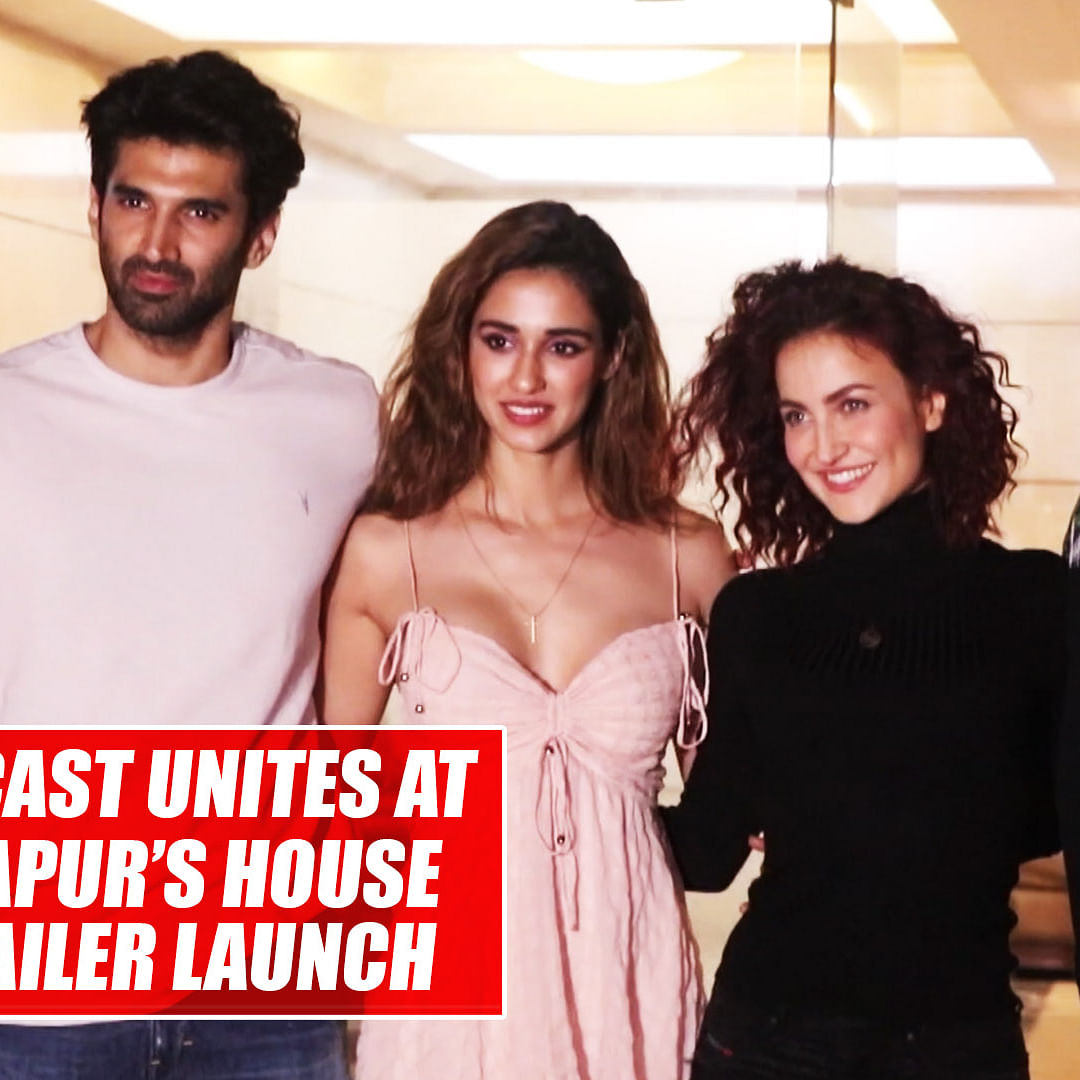 'Malang' cast unites at Aditya Kapur's house after trailer launch