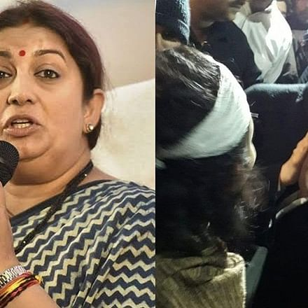'Can't deny her freedom to stand with tukde tukde gang': Smriti Irani takes a dig at Deepika