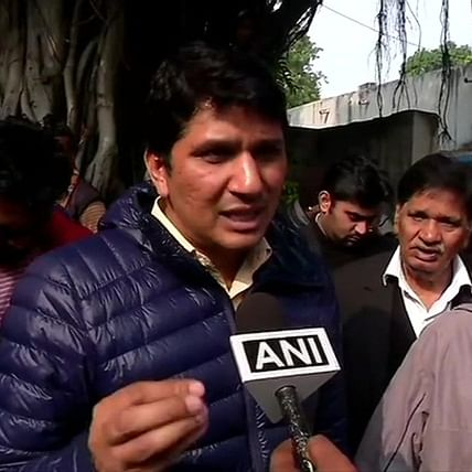 Around 35 candidates are sitting at RO office, not allowing CM Arvind Kejriwal to file nomination: Saurabh Bharadwaj
