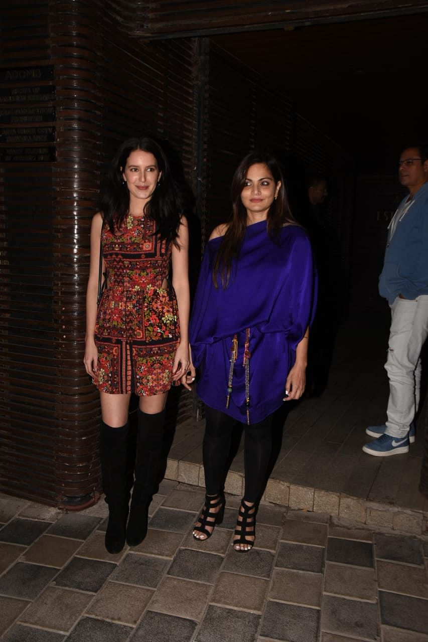 Isabelle Kaif at Ali Abbas Zafar's birthday bash