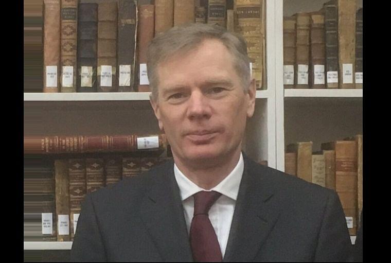 UK Ambassador to Iran Rob Macaire