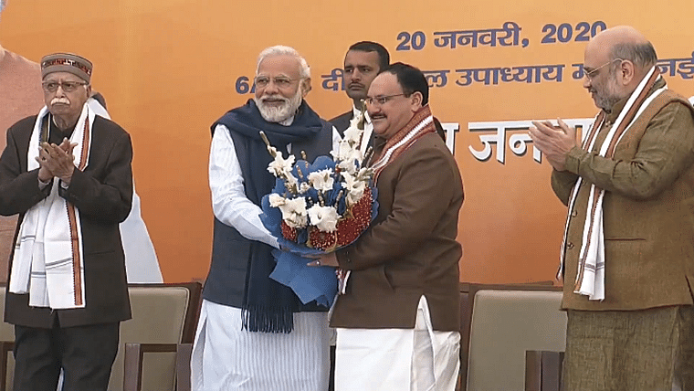 'BJP will benefit from his organizational skills': Modi-Shah congratulate JP Nadda on his new role