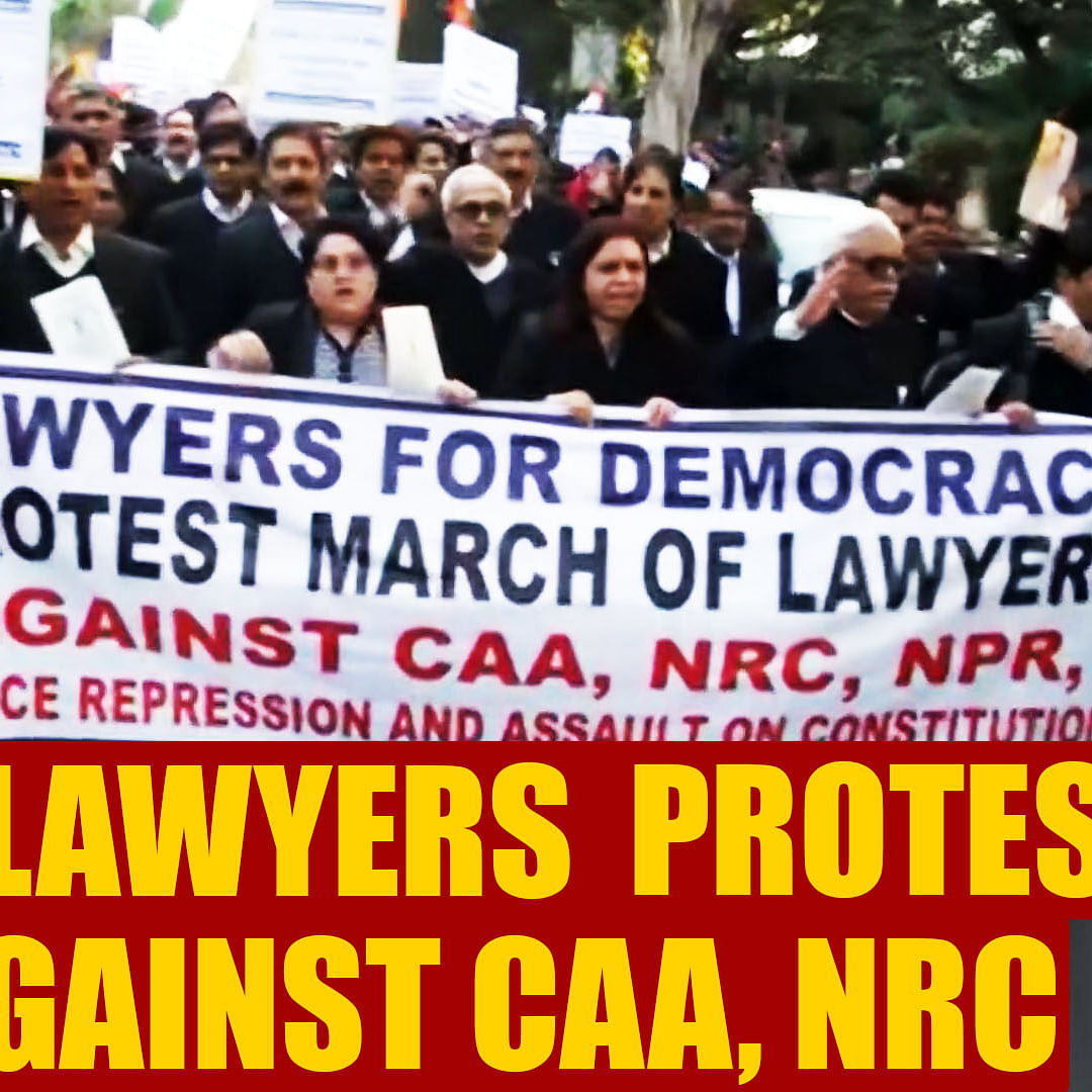 SC lawyers hold protest march against CAA, NRC