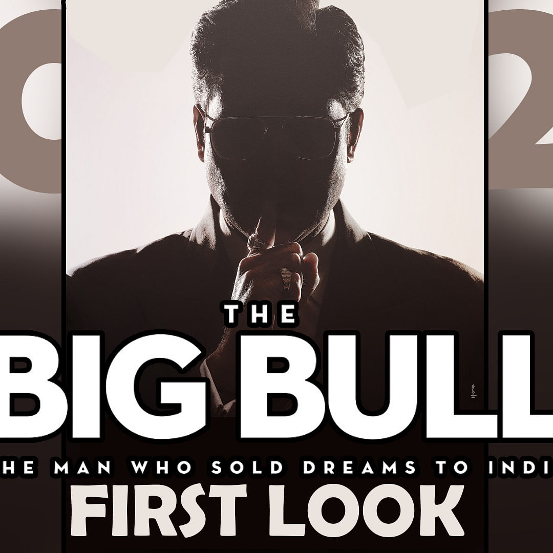 The Big Bull First Look: Abhishek Bachchan shares poster of the movie