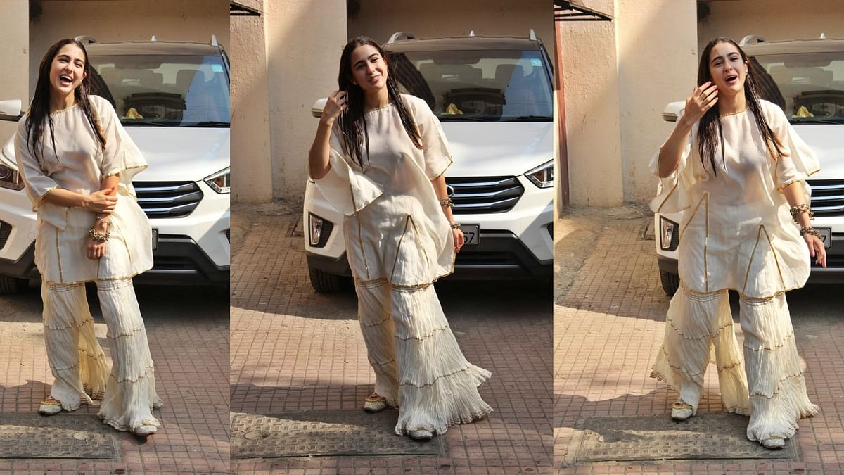 Did Sara Ali Khan wear this outfit to the gym?