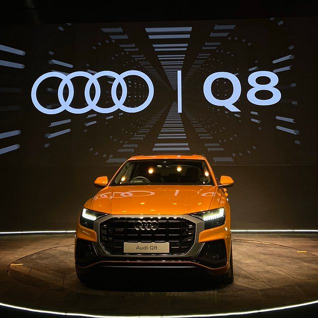 Audi launches crossover SUV Q8 in India
