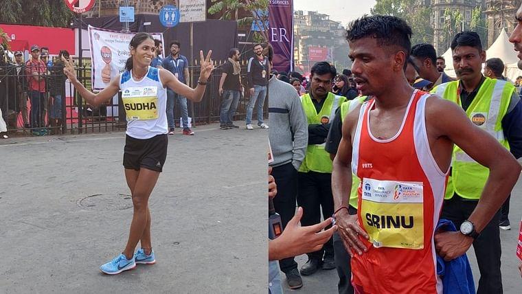 Mumbai Marathon 2020: Srinu Bugatha, Sudha Singh win Indian Elite Full Marathon