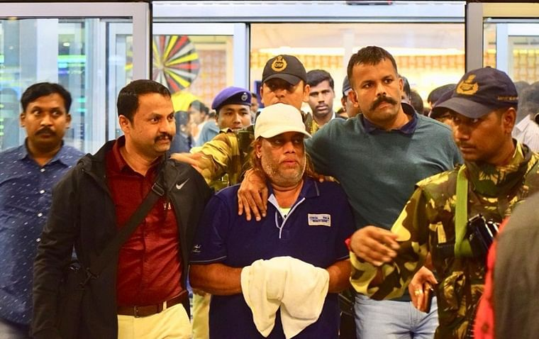 Underworld gangster Ravi Pujari arrives in Bengaluru from South Africa
