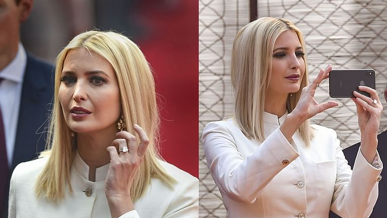 Ivanka Trump's royal white silk sherwani by Anita Dongre costs Rs 82,000