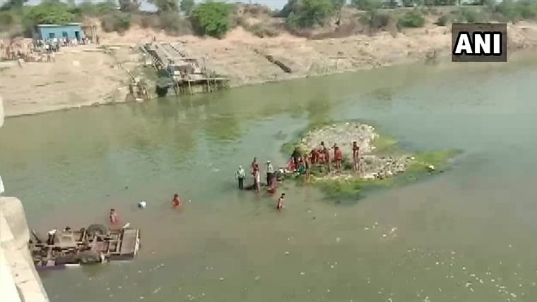 24 killed, several injured after bus carrying wedding party falls into river in Rajasthan