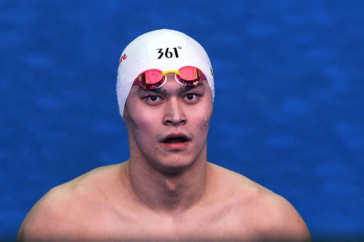 China's Olympics champ Sun banned for 8 years