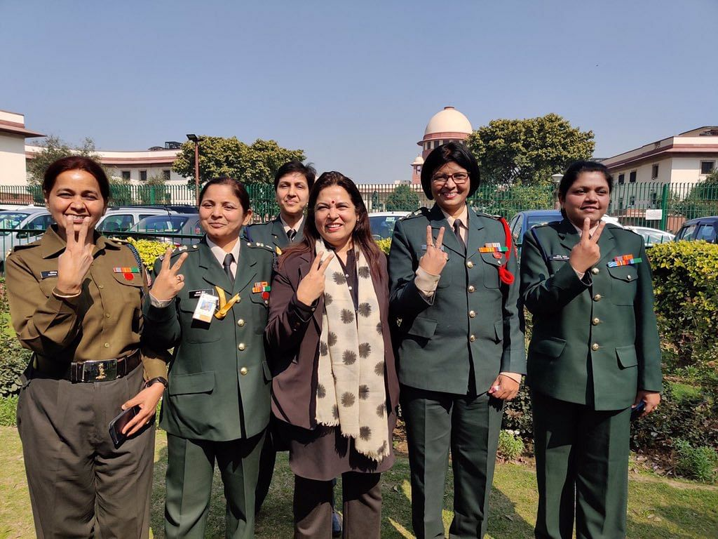 'Meenakshi Lekhi didn't take a penny from us': Women Army officers thank lawyer after SC's ruling
