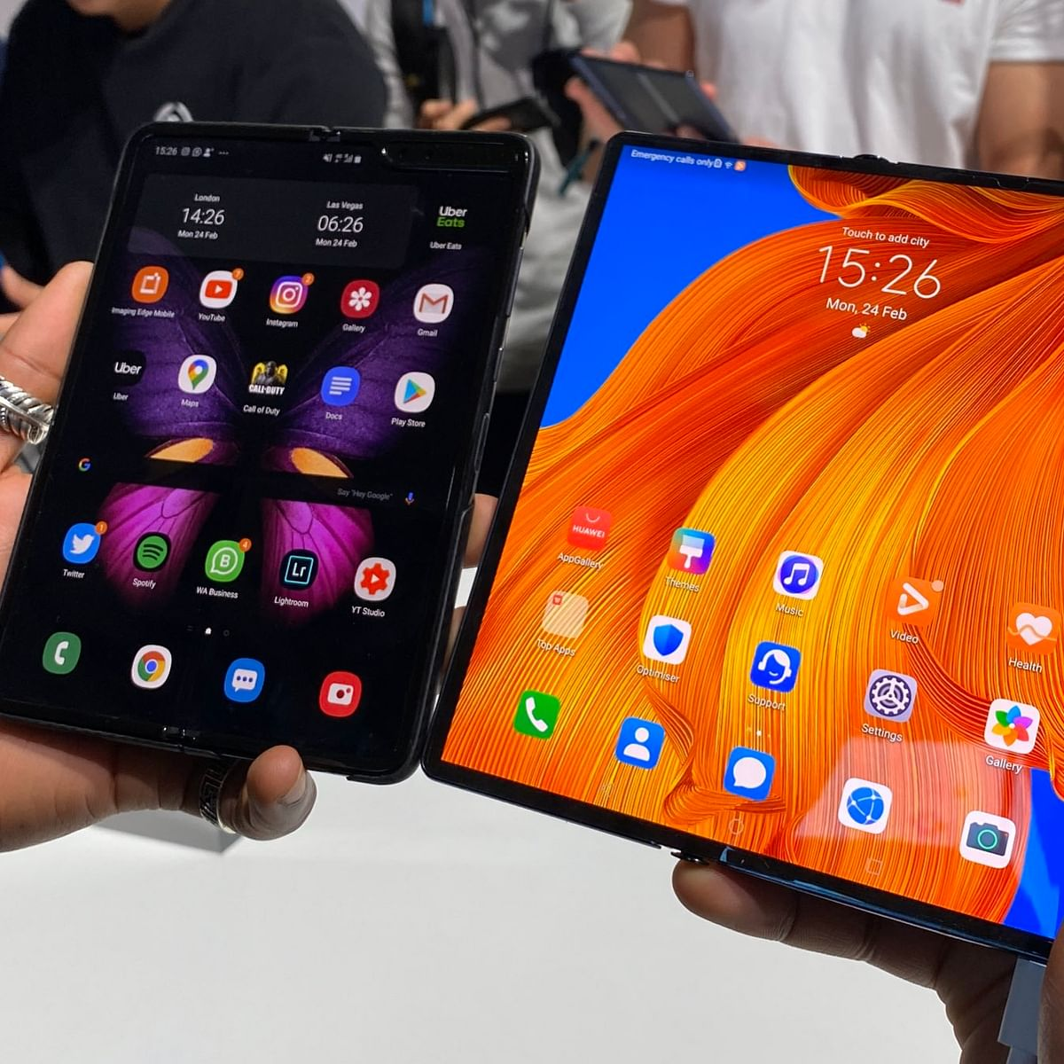 Huawei unveils its 2nd foldable smartphone Mate Xs