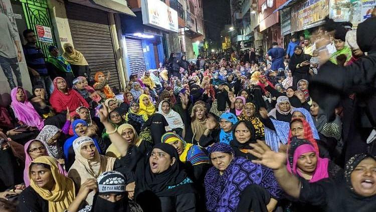 Washermenpet turns into Chennai's Shaheen Bagh