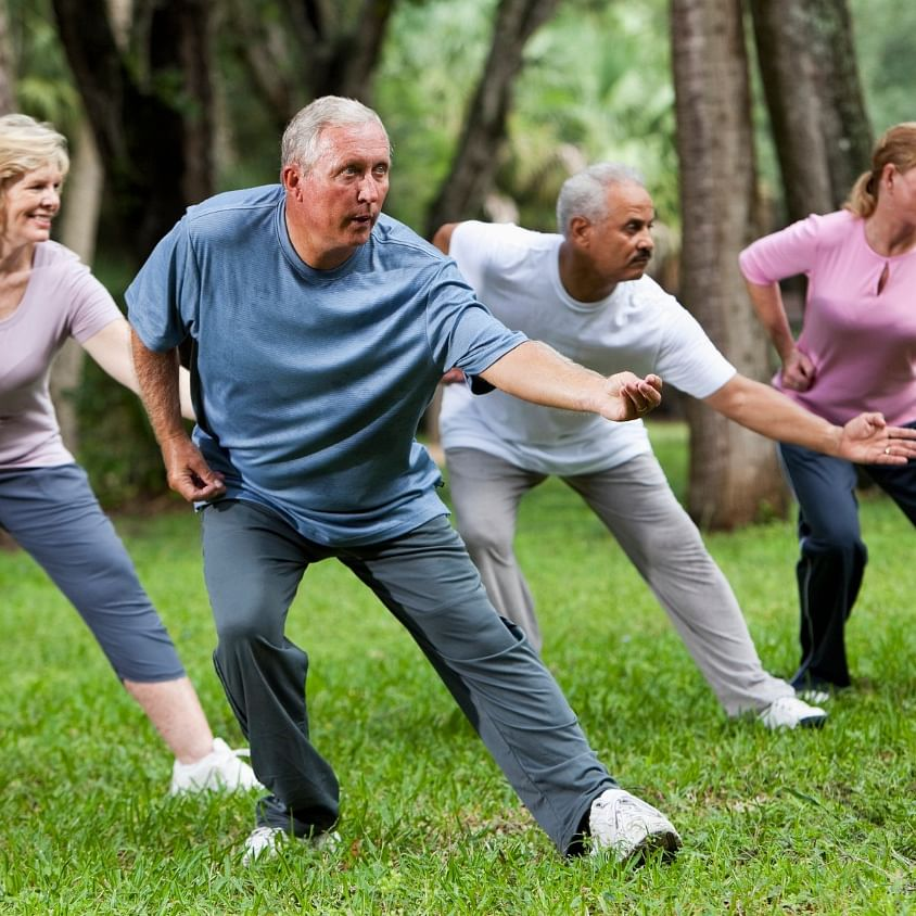 Tai Chi helps lower back pain in older adults