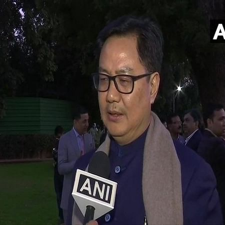 Sports Minister Kiren Rijiju tests positive for COVID-19, says he is feeling 'fit and fine'