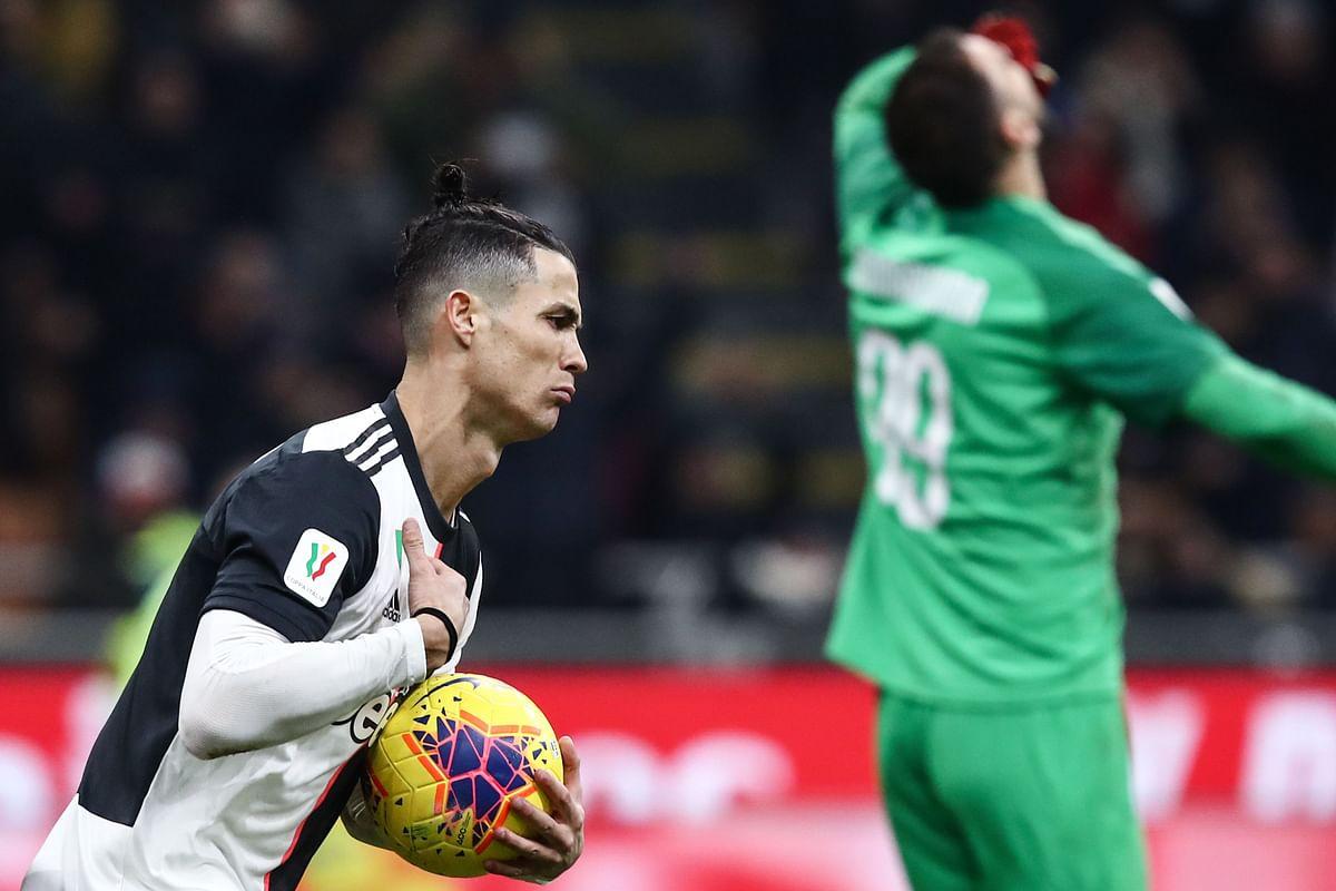 Coppa Italia: Ronaldo rocks against AC Milan with late equaliser