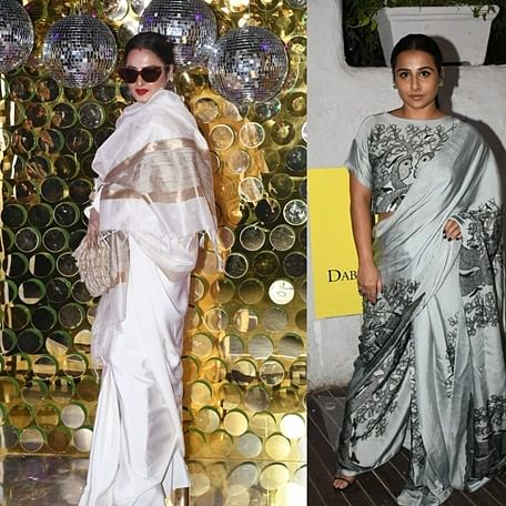 Dabboo Ratnani's 21st calendar launch: Rekha, Vidya Balan, Bhumi Pednekar and others grace the bash