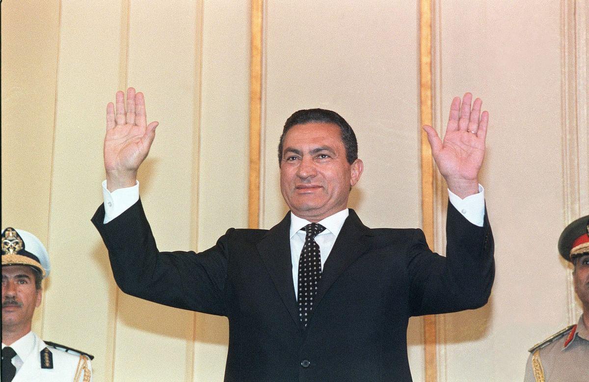 Egypt's ex-President Mubarak dies at 91