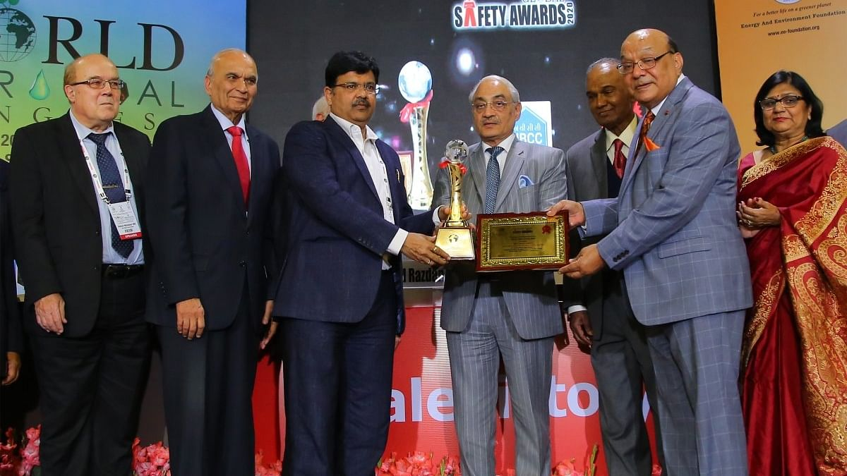 NBCC bags Global Safety Award 2020