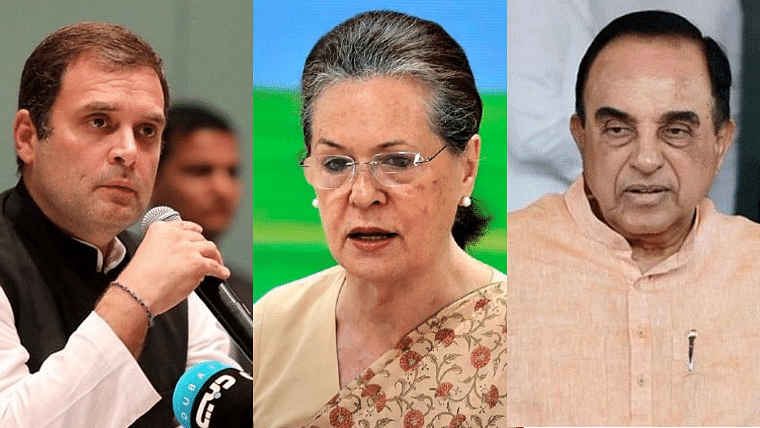'Sonia and Rahul will lose their citizenship soon': Gandhi family bete noire Subramanian Swamy