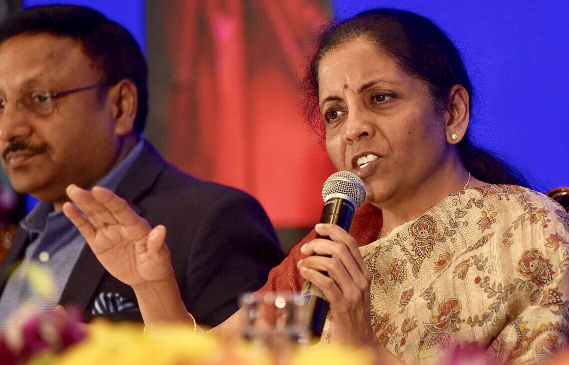 AGR dues: FM Nirmala Sitharaman says Telecom department actively engaging with companies after SC order