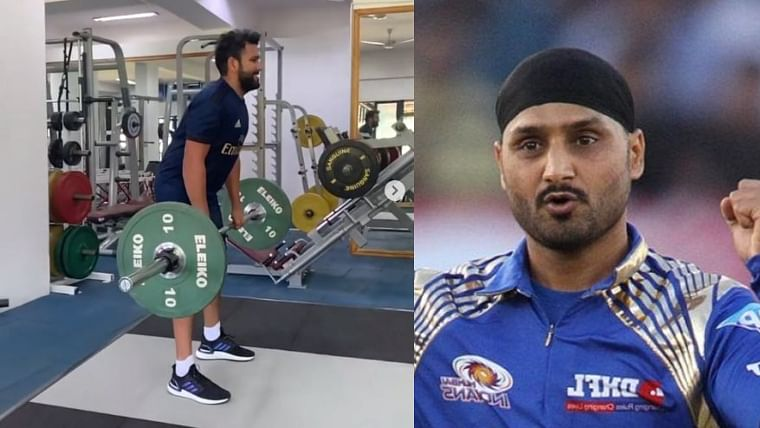 'Only 40 KGs?': Harbhajan Singh trolls Rohit Sharma for lightweight deadlifts