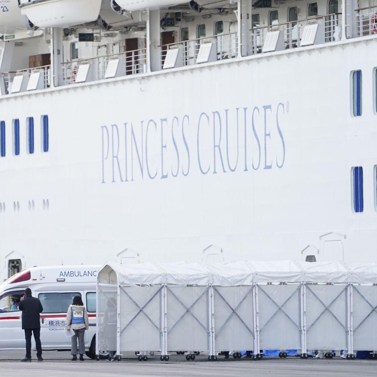 Indians stuck on Japan cruise ship