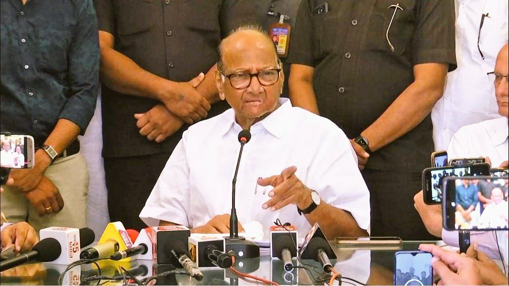 Sharad Pawar alleges misuse of power by BJP-led govt and Pune Police in Elgar Parishad case