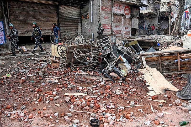 Delhi violence: Saved by Hindu neighbour, recalls Muslim man