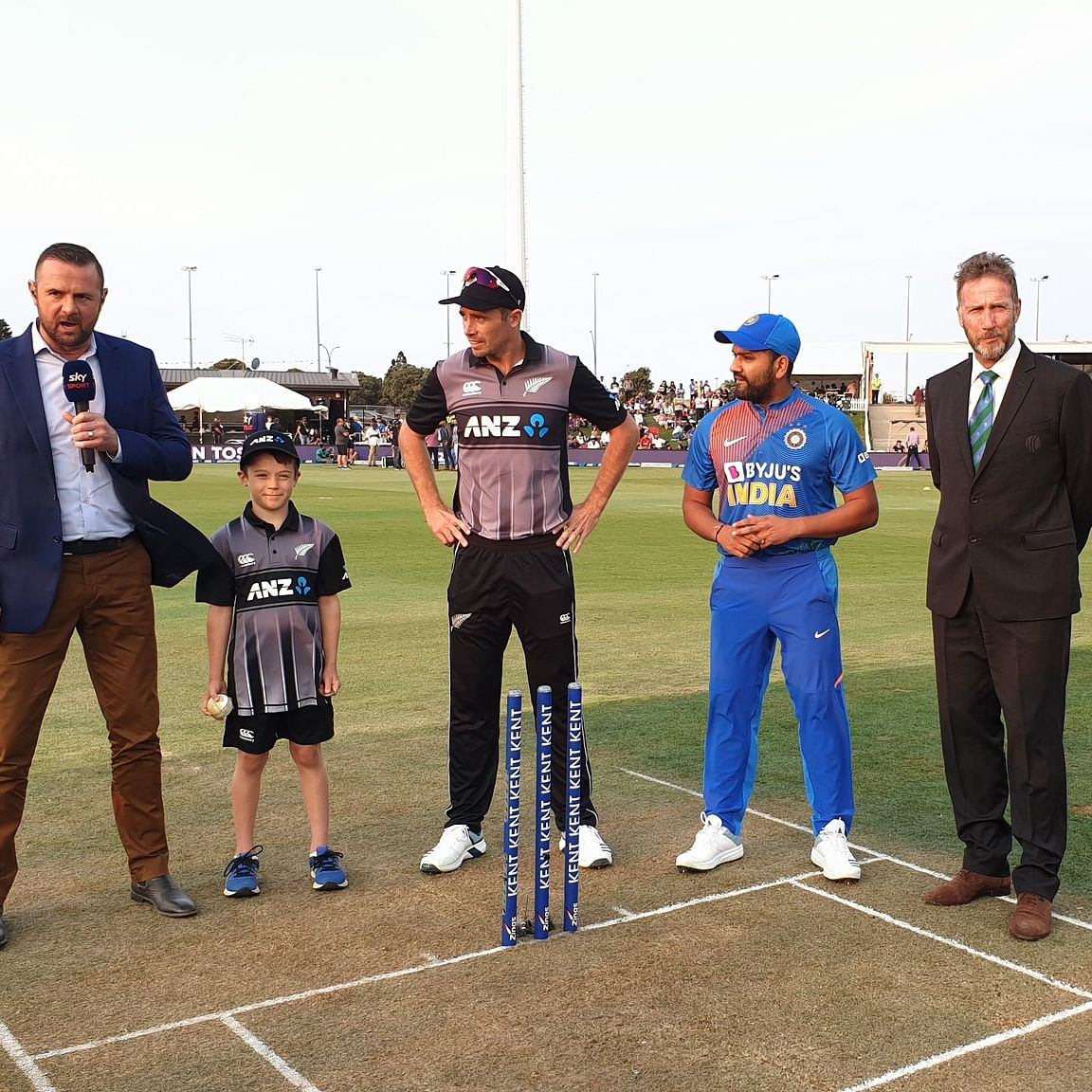 NZ vs IND 5th T20I: India wins toss, opts to bat first